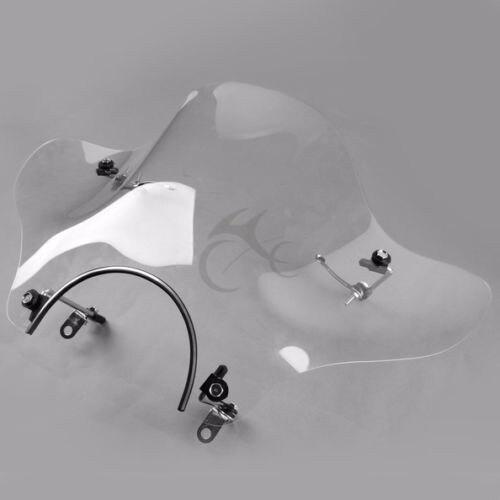 Motorcycle Screen Windshield Wind Shield For Honda Suzuki Yamaha Cruiser VTR XV V STAR