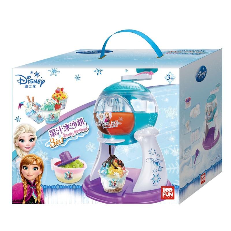100FUN Children's Smoothie Machine Toy Ice Romance Princess Fruit Shaved Ice Machine Handmade Food Making Smoothie Machine