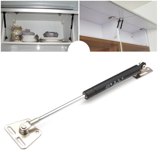 Kitchen Cabinet 100N/10KG Door Lift Pneumatic Support Hydraulic Gas Spring Stay for Wood Box  sc 1 st  AliExpress.com & Kitchen Cabinet 100N/10KG Door Lift Pneumatic Support Hydraulic Gas ...