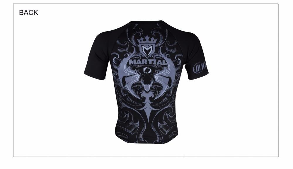 qucik seco camisas mma roupas respirável plus size camisa