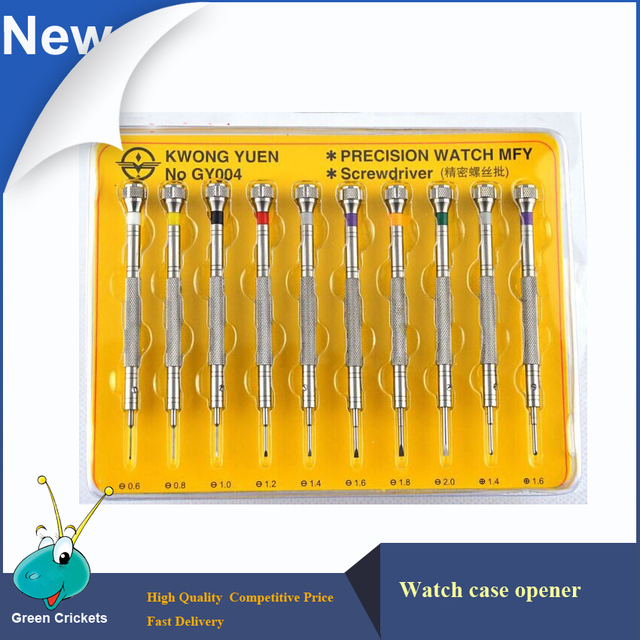 10pcs/set 316# Steel Extreme Hardness watch screwdriver set,Watchmaker Repairing Precision watch screwdriver set