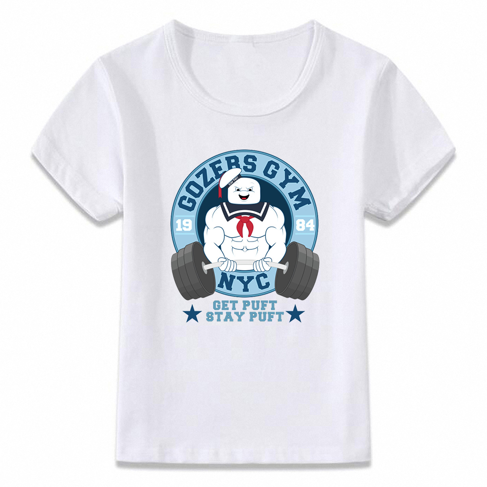 9ae8a0cfa Kids Clothes T Shirt Ghostbusters Marshmallow Man Funny Children T-shirt  for Boys and Girls Toddler Shirts Tee