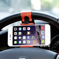 KISSCASE Car Steering Wheel Phone Socket Stand Navigate Case For iPhone 6 6S Plus 5S For Samsung Galaxy S6 S7 Edge Note 4 5 A5 7