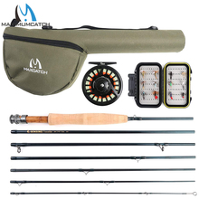 Maximumcatch Traveler Fly Fishing Rod Combo Graphite IM10/30T+36T Carbon Fiber Fly Rod with Fly Reel Equipment 9FT 6/7/8WT 7Sec