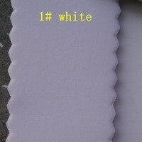 white SRB Neoprene rubber fabrics lycra fabric coated 2.5MM thickness