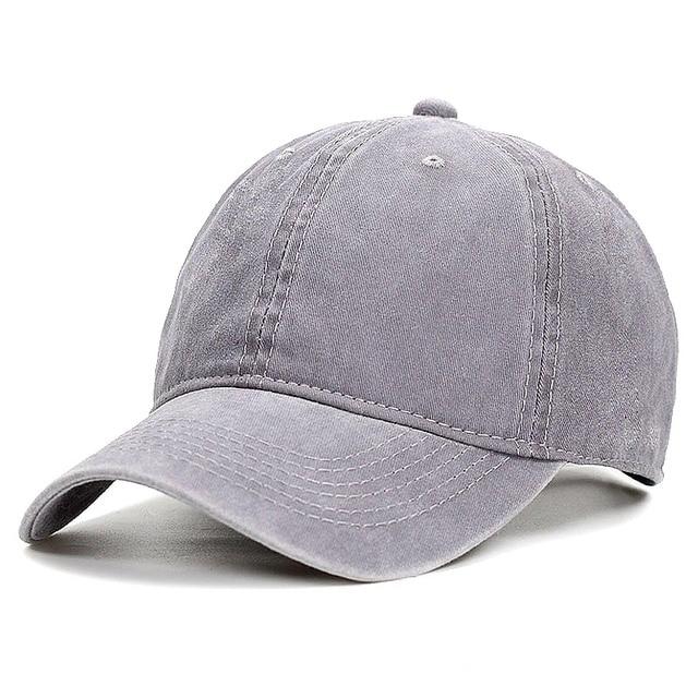 83f3c18fa9c Fashion Men Baseball Cap Women Snapback Caps Casquette Bone Hats For Men  Solid Casual Plain Flat Gorras Blank Hat