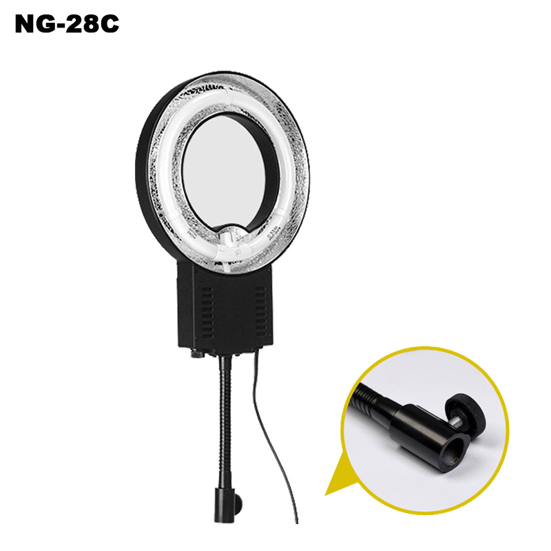 New NG-22C 22W 5400K Daylight Fluorescent Ring Lamp Light For Small Objects Shooting Portrait Photo Lighting Photography Video цена