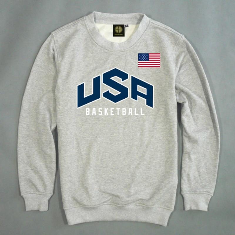Heren Pullover VS basketbal Dream Team Sweatshirt Hoodie Effen Kleur - Herenkleding - Foto 2