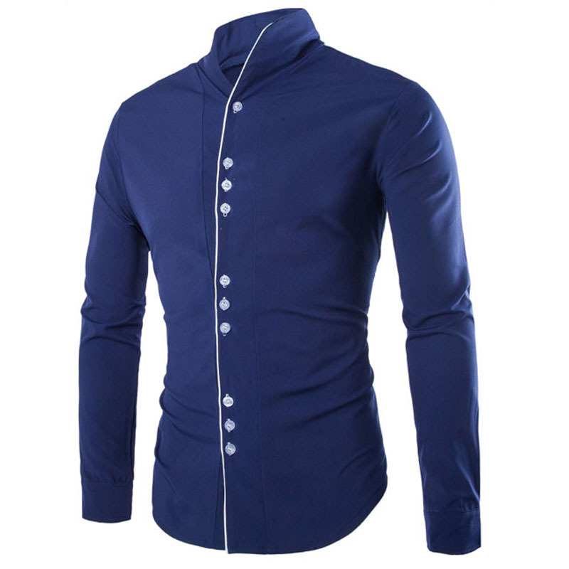New arrival 2016 summer style men shirt fashion solid for In style mens shirts