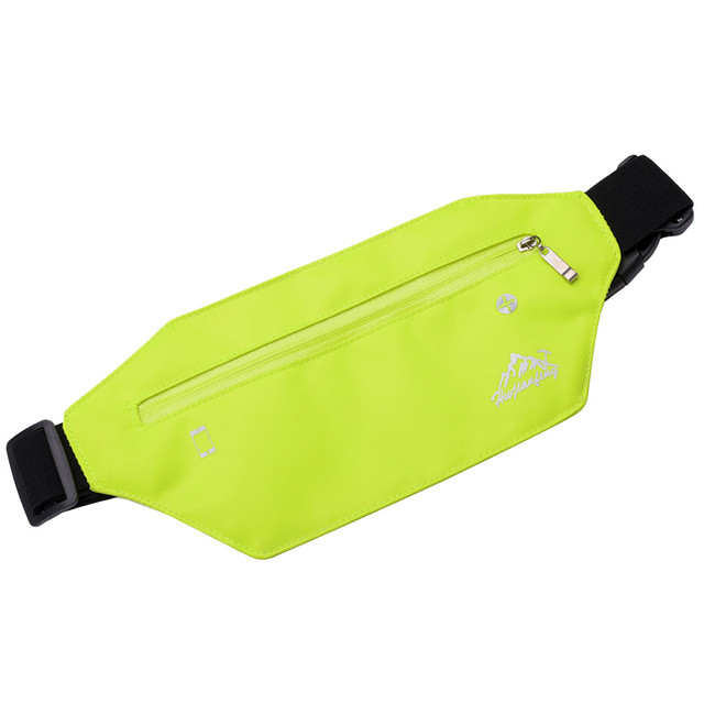 Fashion Neutral Pure Color Water Repellent Nylon Flap Shell Zipper Bag women fanny pack women belt 2019 #Zer