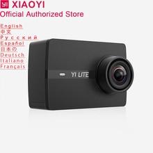Xiaomi Yi Lite Action Camera Sport Cam Outdoor Kamera Screen Wifi Bluetooth Wide Angle Lens Touch Screen Camaras TF Slot APP