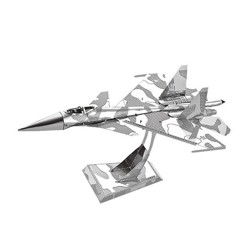 Nanyuan 3D Metal Puzzle Su-34 - ფაზლები - ფოტო 1