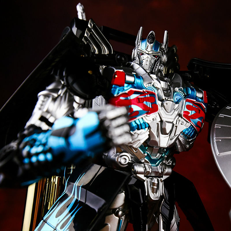 Cool Boy Toys Anime Series Action Figure Toys Transformation 4 Robot Car ABS Plastic Class Cool juguetes Model AD31 big size anime dinosaur deformation robot toys action figure plastic toys movie 4 juguetes model boys toys christmas gifts