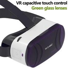บลูทูธ3D VRแว่นตาชุดหูฟังความเป็นจริงเสมือนVRกล่องสำหรับวิดีโอ3dภาพยนตร์เกมสำหรับapple iphone samsung lg googleมาร์ทโฟน