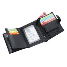 Men Wallets Credit Card Holder Passport Purse For men Genuin