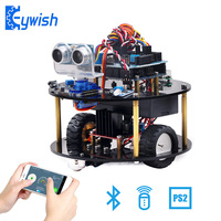 Keywish Robot for Arduino Project Smart Car Starter Kit with Tutorial Robotics Learning Kit Educational Stem Toys for Children