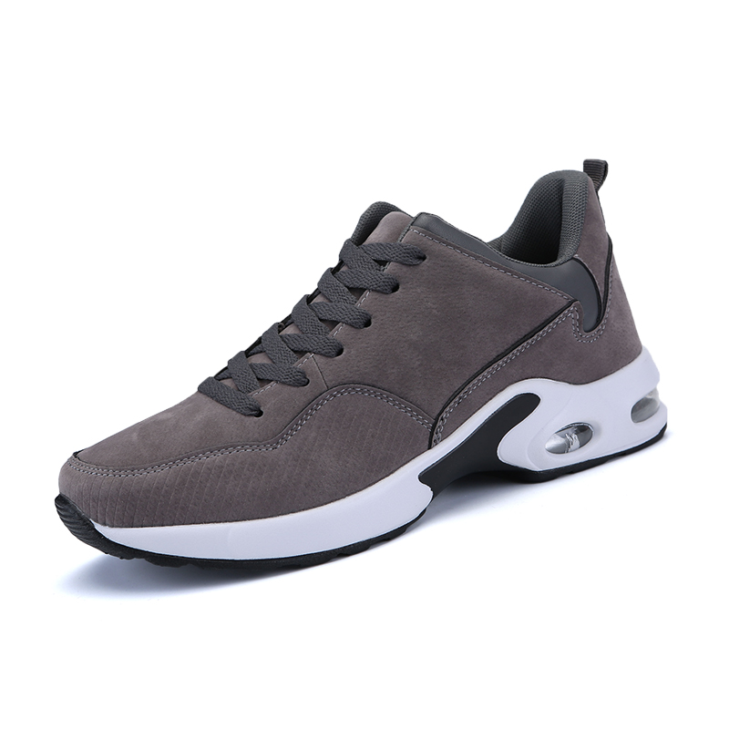 2018 New Arrival Sneakers Men Breathable Suede Running Shoes 39-44 for Sale Cushioning Airbag Sports Shoes