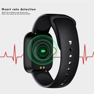Image 5 - LIGE IP68 étanche Bracelet intelligent Sport Fitness suivi de la pression artérielle moniteur de fréquence cardiaque Bracelet intelligent podomètre montre hommes