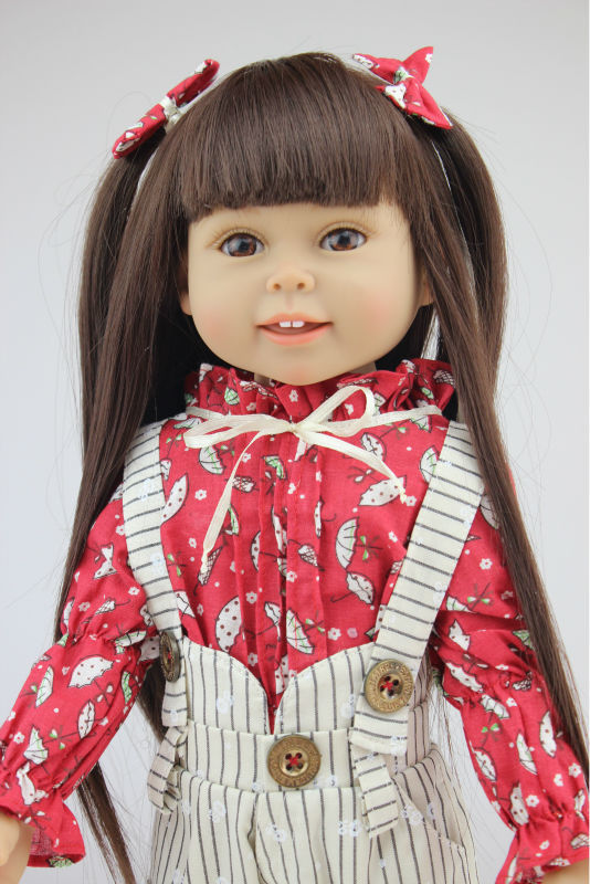 new design 18inches American girl doll Journey Girl Dollie& me fashion doll birthday gift toys for girl children lifelike american 18 inches girl doll prices toy for children vinyl princess doll toys girl newest design
