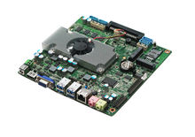 12V DC motherboard HTPC Mainboard dual core i3 processor DDR3 4GB RAM Onboard With Intel HM77 Express Chipset
