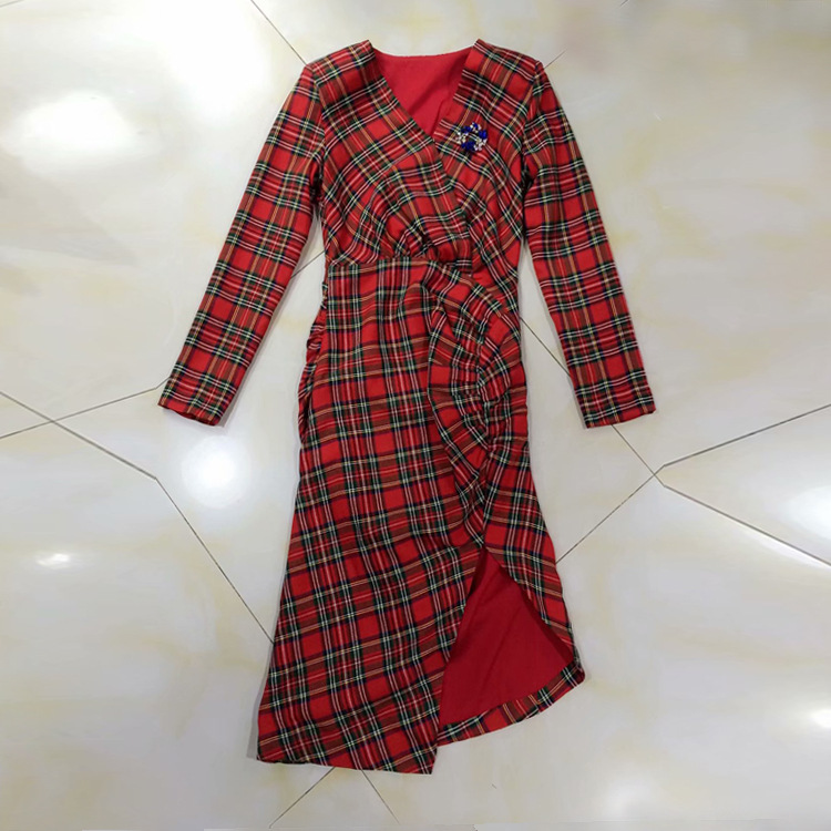 Partie Nouvelles Design Mode Ws12385 Femmes 2019 Robe Européenne Printemps  Qualité Haute Luxe Style Marque De 7wqBB5 6c13c980e30
