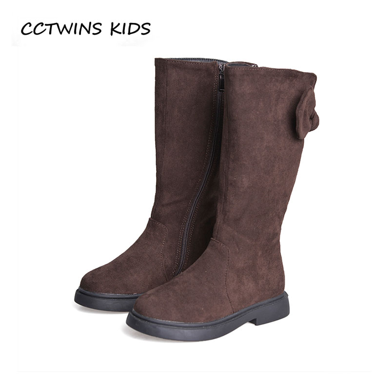 CCTWINS KIDS 2018 Autumn Children Fashion Knee High Boot Baby Girl Brand Butterfly Boot Toddler Genuine Leather Shoe H018 cctwins kids 2017 children brand high boot kid fashion over the knee boot baby girl toddler genuine leather black shoe c1312