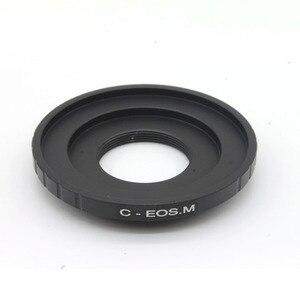 Image 2 - Adaptör halkası C dağı film Lens EOS M FX NEX M4/3 N1 MFT montaj C EOS M C NEX c FX C M4/3 C N1 CCTV Lens montaj adaptörü halkası