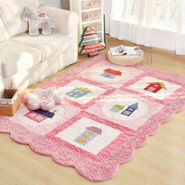 160X210CM Modern Carton Thick Pad For Living Room Home Bedroom Rugs ...