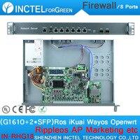 Internet yönlendirici ros 8 gigabit akış kontrolü juniper güvenlik duvarı g1610 işlemci intel 1000 m ile 6 82583 v 2 gigabit 82580db fiber