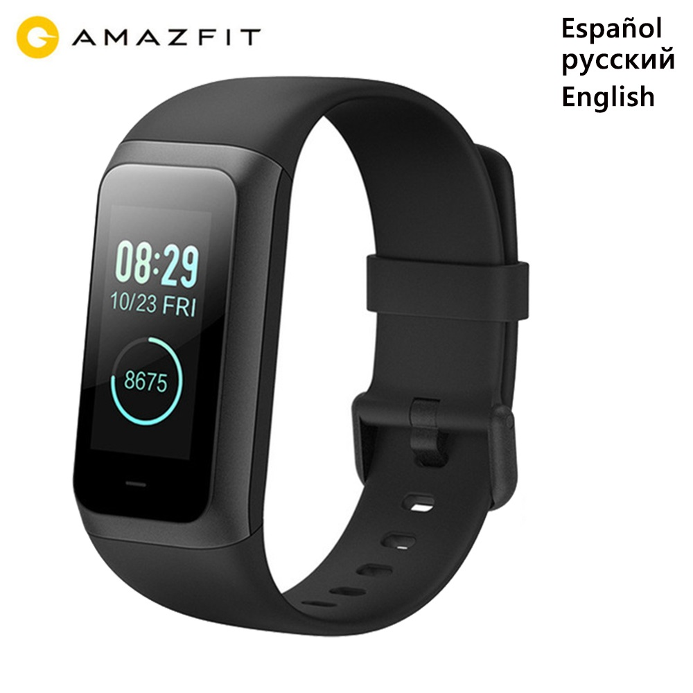 NEW Original Huami Amazfit Band Cor 2 Smart Bracelet 5ATM Waterproof 2 5D Color IPS 316L