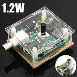New 7023 KHZ Assembled DC 9-13.8V S-PIXIE CW QRP Shortwave Radio Transceiver 7.023Mhz+Case 65 x 60 x 25mm