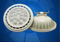 10 pcs Haute Puissance 15 W COB LED Ampoule Lumière AR111 GU10 G53 15 W LED Spot Lumière AC110V/220 V/DC12V Livraison gratuite