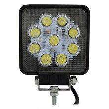 4 Polegada 27 W LED Trabalho Light 12 V led luzes de trabalho do trator 24 V Inundação Spot offroad Lâmpada Fog Driving Motos Tractor Truck ATV barco