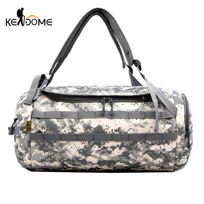 Responsible Outdoor Tactical Military Camouflage Travel Shoulder Bag Molle Large Sport Army Bag Male Gym Handbag Tourist Luggage Bag Xa768wd Drip-Dry Sports & Entertainment
