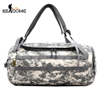 Outdoor Tactical Military Camouflage Travel Shoulder Bag Molle Large Sport Army Bag Male Gym Handbag Tourist Luggage Bag XA768WD