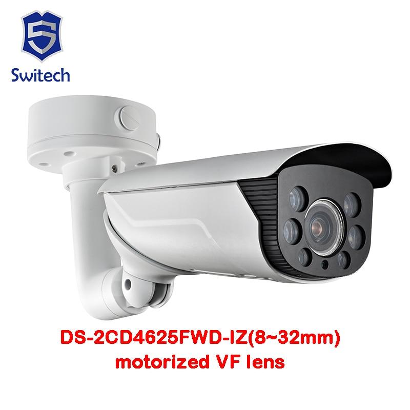 Original Oversea Version DS-2CD4625FWD-IZ(8~32mm)2MP Smart IP Vandal-proof IP66 50m IR Motorized lens with Smart Focus smart junior 2 cl cd