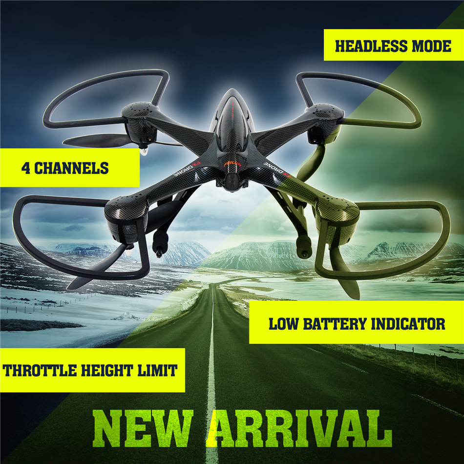 FX137 Remote Control Drone 4 axis 4CH headless mode 2 level speed rc Helicopter can remote 300 meters include 4 fan VS X5C X5SW wltoys q222 quadrocopter 2 4g 4ch 6 axis 3d headless mode aircraft drone radio control helicopter rc dron vs x5sw