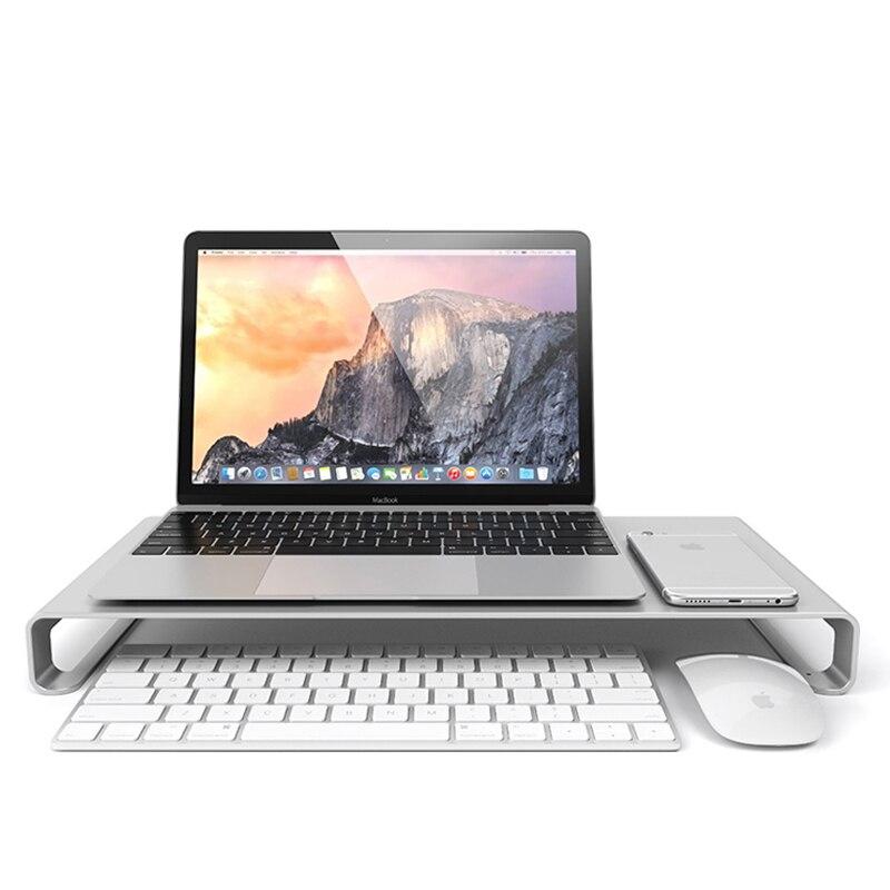 Aluminum High Quality Universal Aluminum Unibody Monitor Laptop For IMac PC Stand Macbook