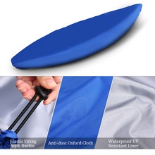 Professional Universal Kayak Cover Canoe Boat Waterproof UV Resistant Dust Storage Cover Shield Water Sports Boat Cover