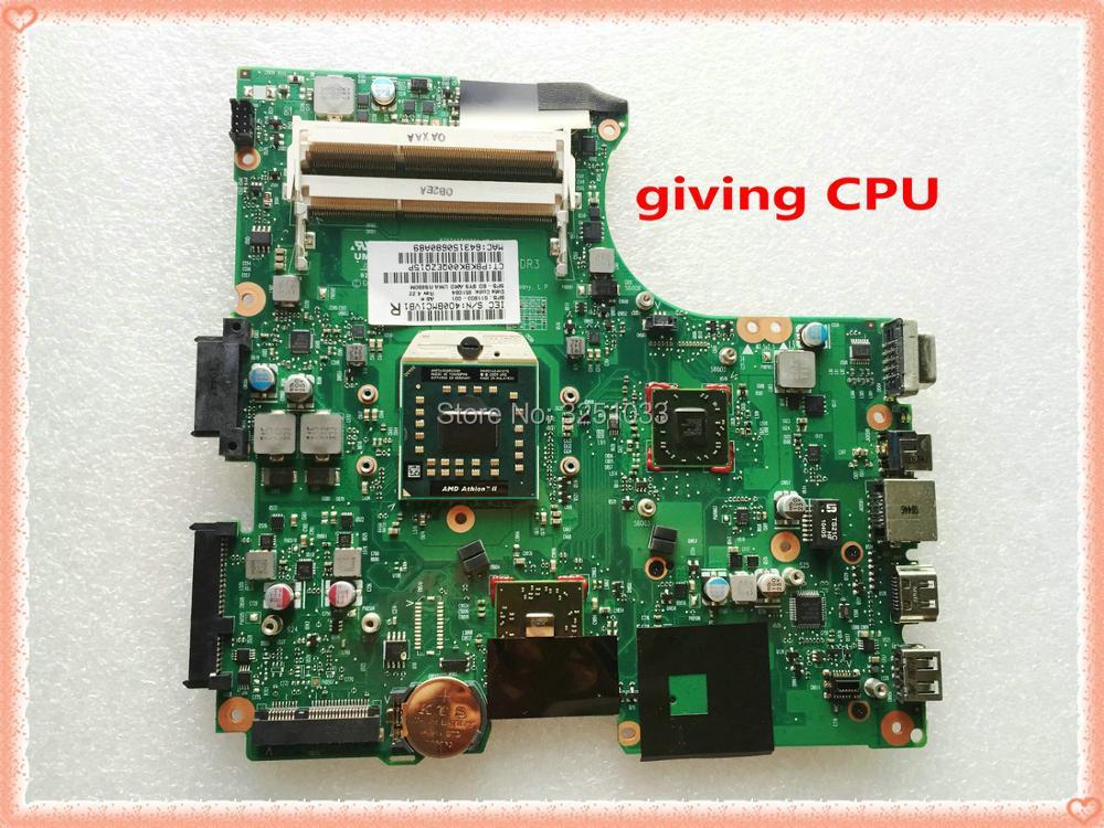 611803-001 para hp Compaq 325 625 425 Notebook PC para hp 625 325 CQ325 Motherboard RS880 DDR3 100% completo probado OK