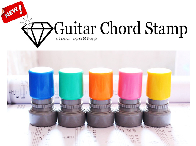 Guitar Chord Stamp Accessories Ukulele Guitar Classic Chords Print