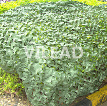 Купить с кэшбэком 3.5M*4MCamo Netting Green military filet camouflage netting for camping outdoor sun shelter theme party decoration car covers