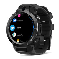SexeMara 1GB+16GB 3G GPS WIFI Camera Heart Rate Monitor Smart Watch Black