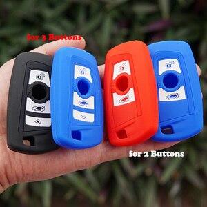 Image 3 - 50 יח\חבילה סיליקון מפתח fob כיסוי case shell עבור BMW F10 F20 F30 Z4 X1 X3 X4 M1 M2 m3 E90 1 2 3 5 7 סדרת מרחוק keyless