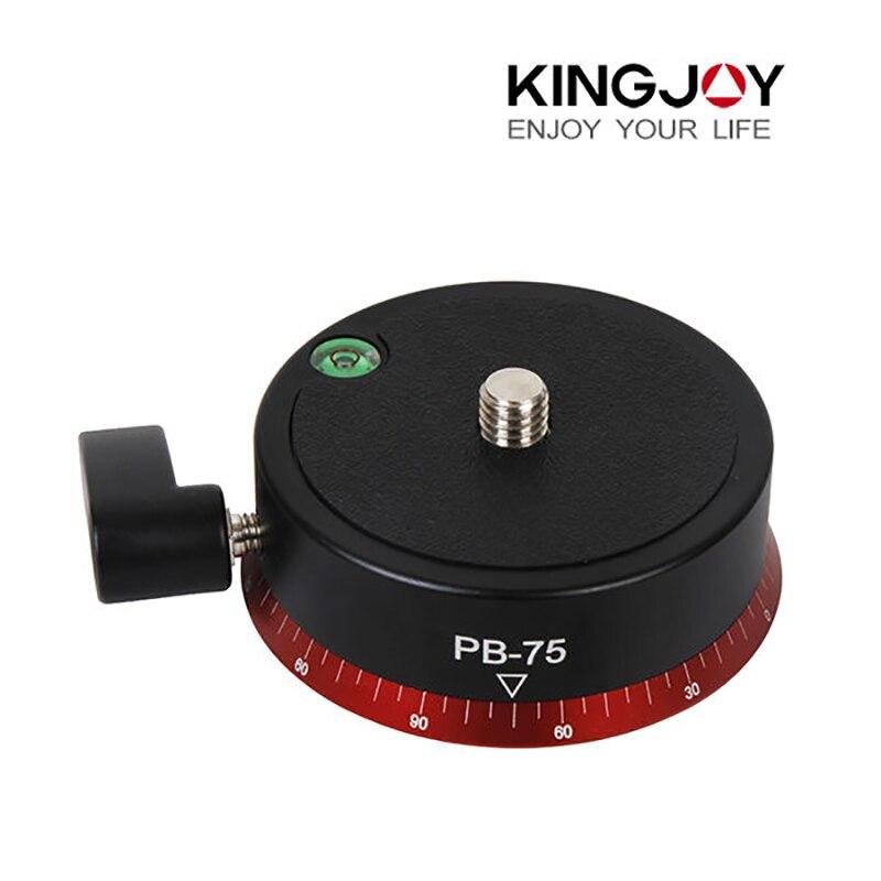 Kingjoy PB-75 rotule professionnelle universelle caméra trépied rotule pour caméra vidéo potence grue charge Max 10 kg