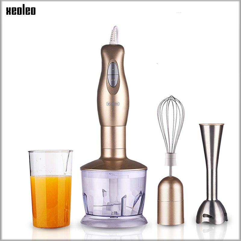 XEOLEO Juicer machine Food mixer Cooking stick Household Handheld stainless steel Mixing machine multi-functional Food processor цена