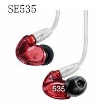 De noël SE535 écouteurs À Isolation Sonore Haute-Définition Dynamique HIFI riche Basse Confortable 3.5mm intra-auriculaires avec Câble Détachable