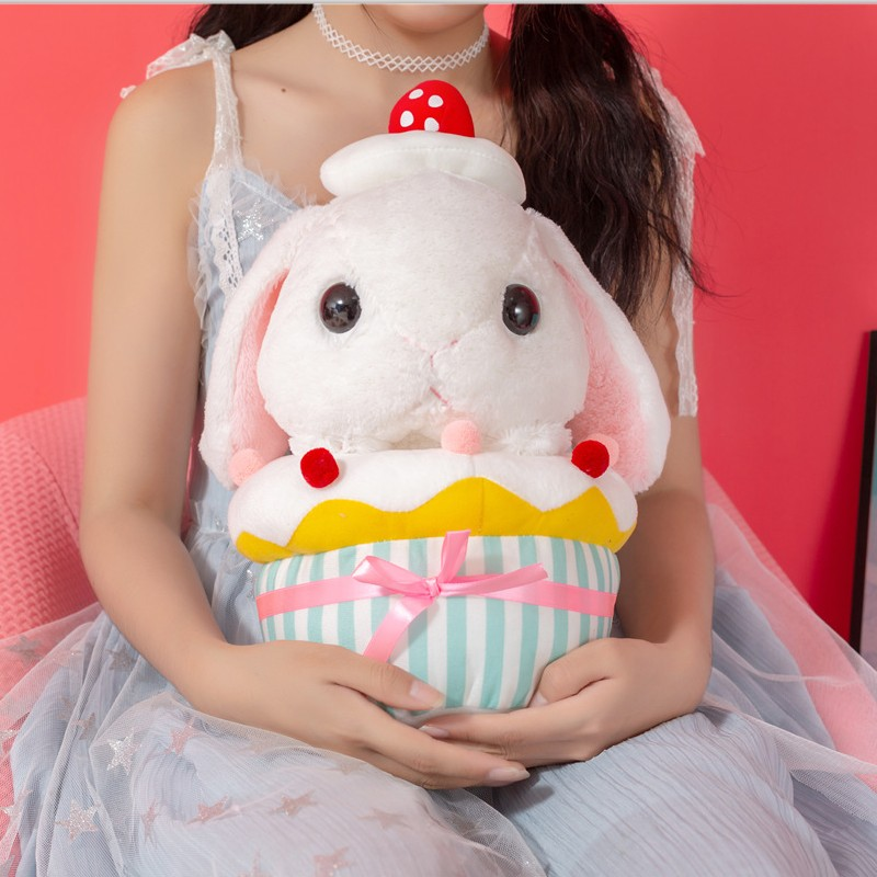 cute Rabbit Dolls Classical soft Plush cake Bunny Rabbit Toy Loppy rabbit Plush Pillow for Kids Birthday Gift mashimaro stuffed animal bunny rabbit toy pluche stuffe speelgoed birthday gift for kids cute plush rabbit toy for baby 70c0363