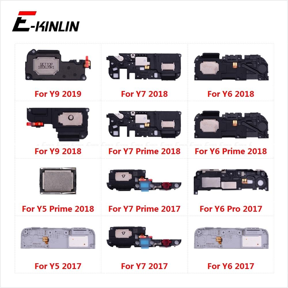 Loudspeaker For HuaWei Y9 Y7 Y6 Pro 2019 Y5 Prime 2018 GR5 2017 Loud Speaker Buzzer Ringer Flex Replacement Parts