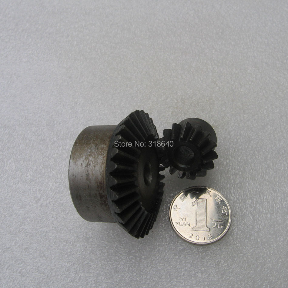 US $23 51 5% OFF Bevel Gear 1 5M 15Teeth 30Teeth ratio 1:2 Mod 1 5 No  tighten screw included Right angle transmission parts DIY Robot  competition-in